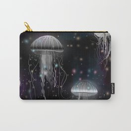 Night Jellyfish Carry-All Pouch