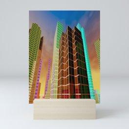 city feeling -100- Mini Art Print