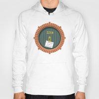 221b Hoodies featuring 221B Bag End by sirwatson