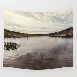 a simple autumn landscape Wall Tapestry