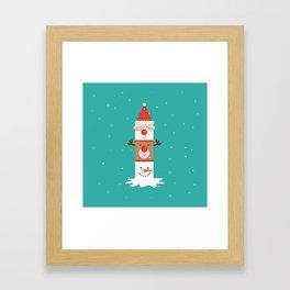 Holiday Totem Framed Art Print