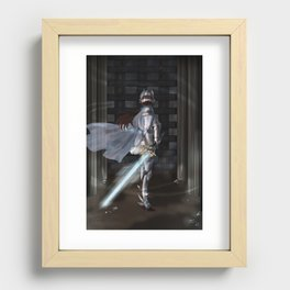 The Brave Knight Recessed Framed Print