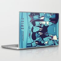 pulp fiction Laptop & iPad Skins featuring PULP FICTION variant by Ale Giorgini