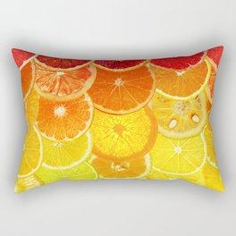 Fruit Madness - Citrus Rectangular Pillow