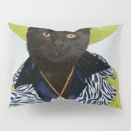 Pimp Cat Pillow Sham
