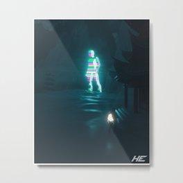 Technotopia Metal Print