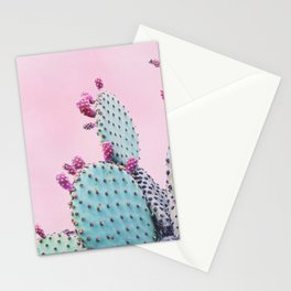 Pink Crush Cactus I Stationery Cards