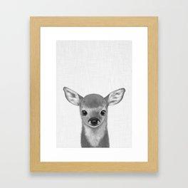 Little fawn Framed Art Print