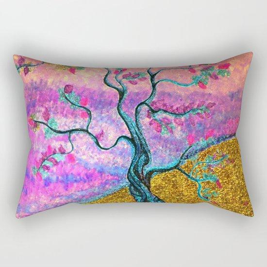 Gold River Rectangular Pillow