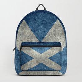 Flag of Scotland or Scottish Flag Backpack