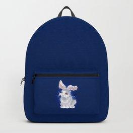 Magic white rabbit Backpack