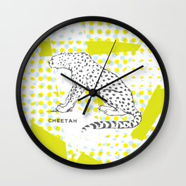 POP Cheetah Wall Clock
