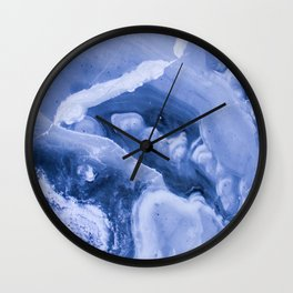Cloudy Marbled Sea Wall Clock