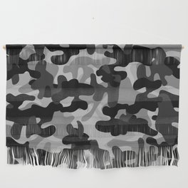 Camouflage (Gray) Wall Hanging