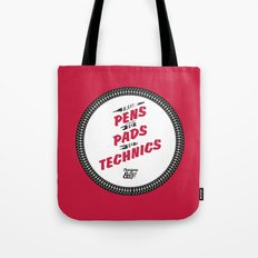 HIPHOP ANTHEM : From Pens To Pads To Technics Tote Bag