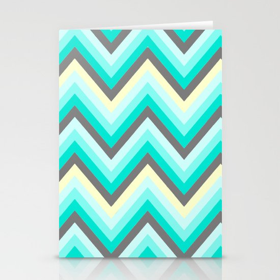 Simple Chevron Stationery Cards
