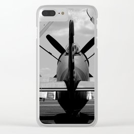 Warbird #1 Clear iPhone Case