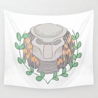 predator Wall Tapestries featuring Predator by Boring Palace