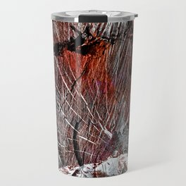 RED ARCHETYPAL STRUCTURES Travel Mug
