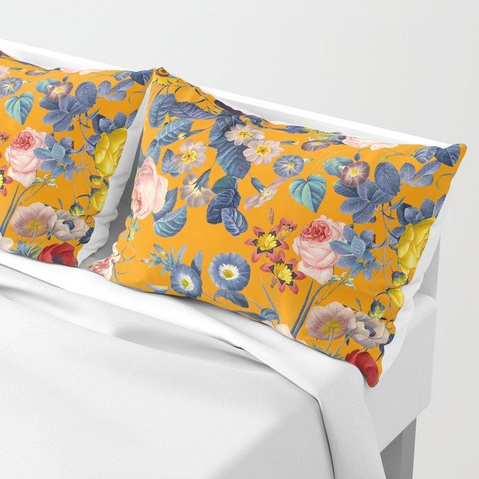 Summer Botanical Garden IX Pillow Sham