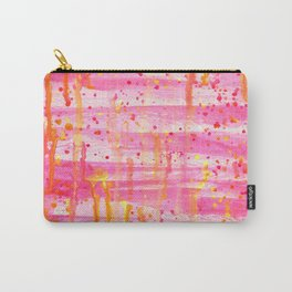 Confetti Abstract High Flow Acrylic Painting Carry-All Pouch