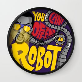 You Can't Offend a Robot Wall Clock