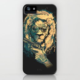 Lion is always Cool iPhone Case