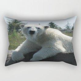 You Lookin' At Me Rectangular Pillow