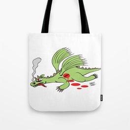 Dead Dragon Tote Bag
