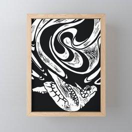 Sink or Swim Sea Turtle Framed Mini Art Print