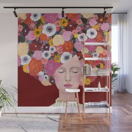 mes pensées Wall Mural