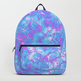 Grunge Art Floral Abstract G171 Backpack
