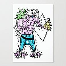 Arrow head Canvas Print