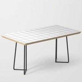 White Grid  /// www.pencilmeinstationery.com Coffee Table