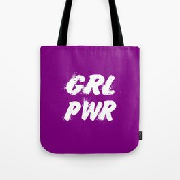 girl power funny strong quote Tote Bag