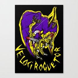 Velociroguetor! Canvas Print