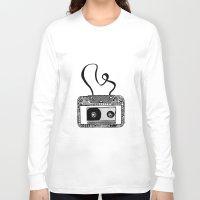 cassette Long Sleeve T-shirts featuring Cassette by Virki