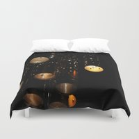 chandelier Duvet Covers featuring Chandelier by Inaereaedificare