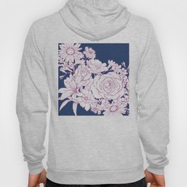 Flower Mix Sketch Hoody