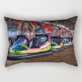 Fairground dodgems Rectangular Pillow