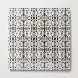 Pewter Gray Print Metal Print