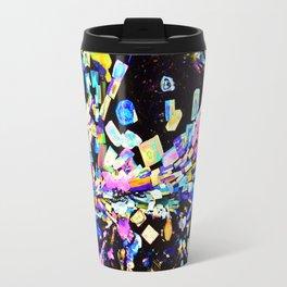 Strontium Platino Cyanide Crystals Travel Mug