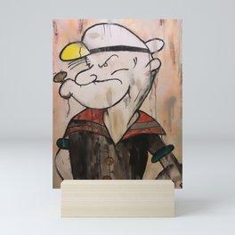 The Sailor Man Mini Art Print