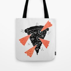 Lazer Pizza Tote Bag