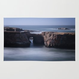 Keyhole Rock Arches Point Arena California Rug