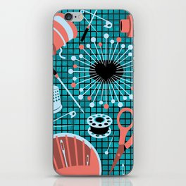 pins and needles iPhone Skin