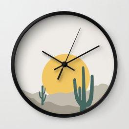 Desert Dreamin' Wall Clock