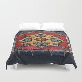 Antique Carpet Sadle Bag Duvet Cover