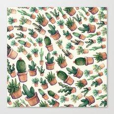 cactus big invasion!! Canvas Print