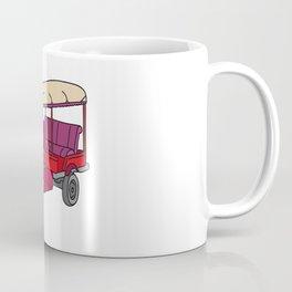 Red tuktuk / autorickshaw Coffee Mug